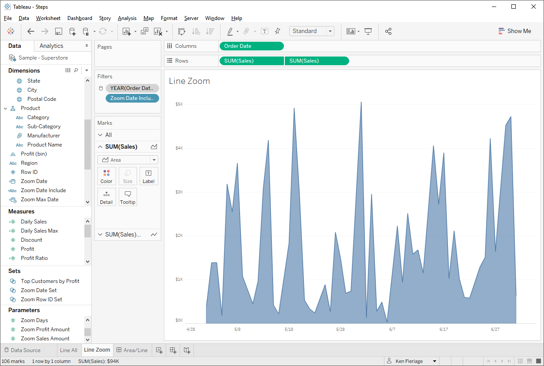 Zoomable Charts in Tableau - Ken Flerlage: Analytics