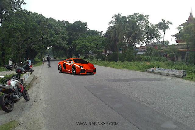Lamborghini in Nepal
