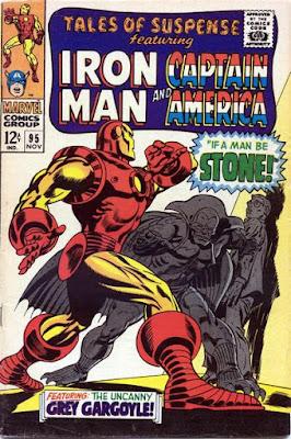 Tales of Suspense #95, Iron Man vs the Grey Gargoyle