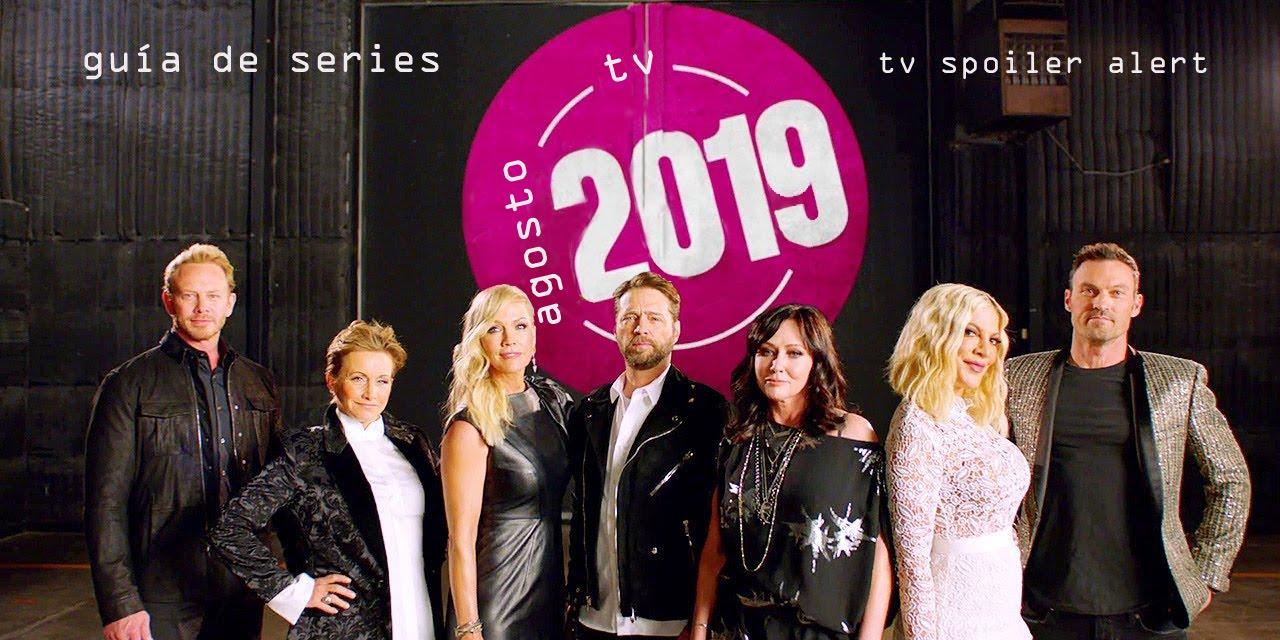 Guía de estrenos y regresos de series en agosto de 2019