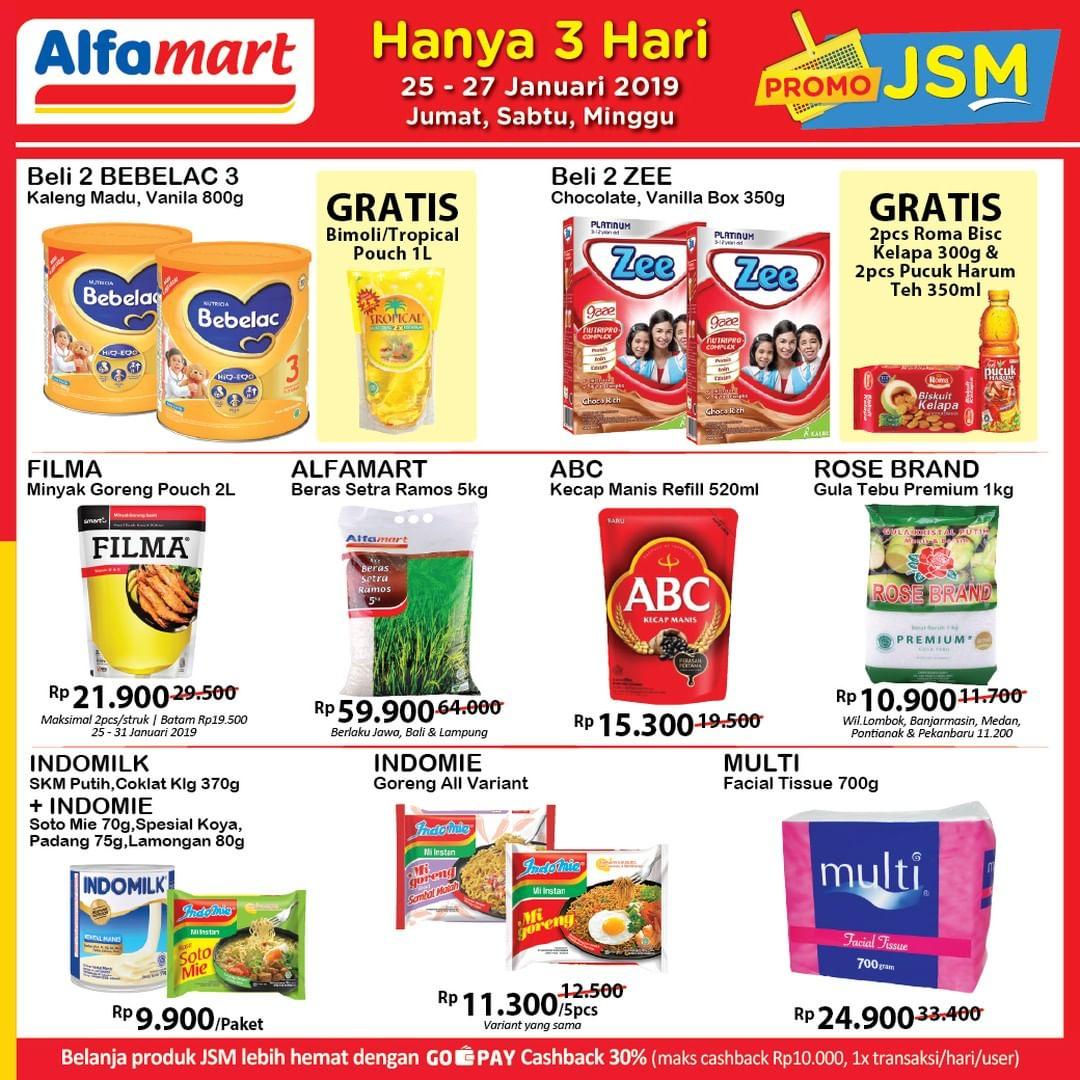 #Alfamart - #Promo #Katalog JSM Periode 25 - 27 Januari 2019