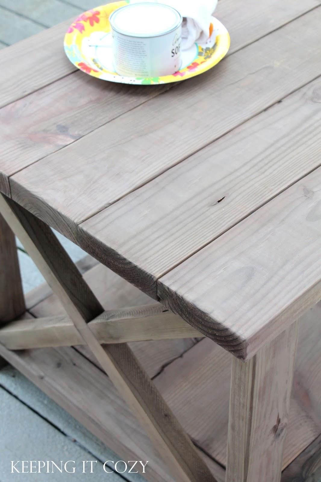 Keeping It Cozy Weathering Wood With Steel Wool Amp Vinegar