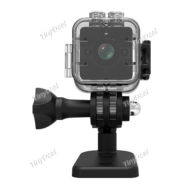 SQ12 Night Vision HD Mini Camera Aerial DV Waterproof Sports 1080P Camera