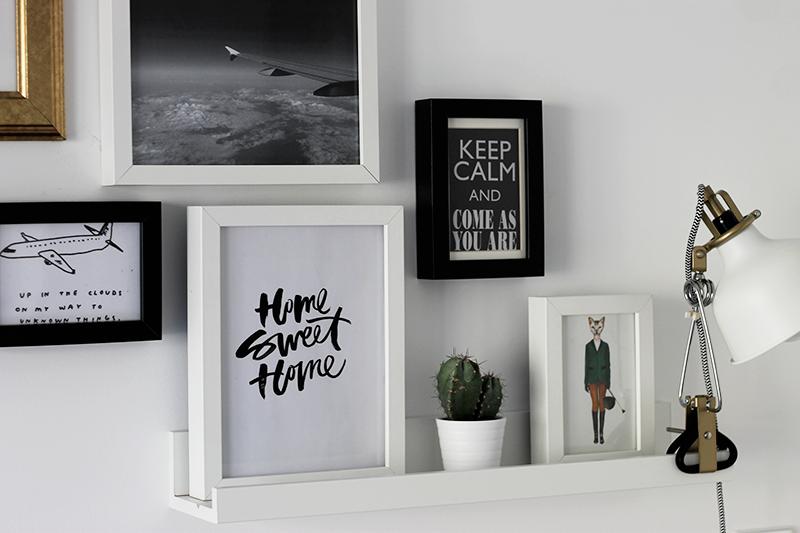 Bedroom Update | Wall Decor