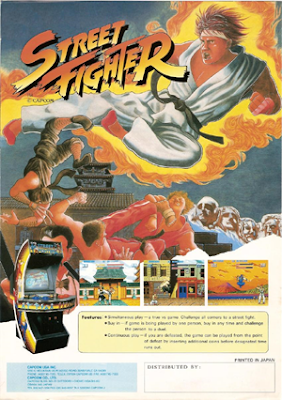 Street Fighter+original+arcade+game+portable+flyer+art