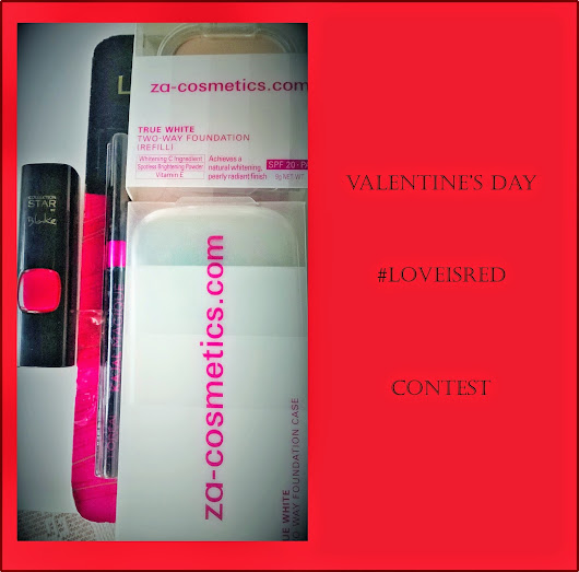 Valentine's Day #LoveIsRed Contest(Open now)