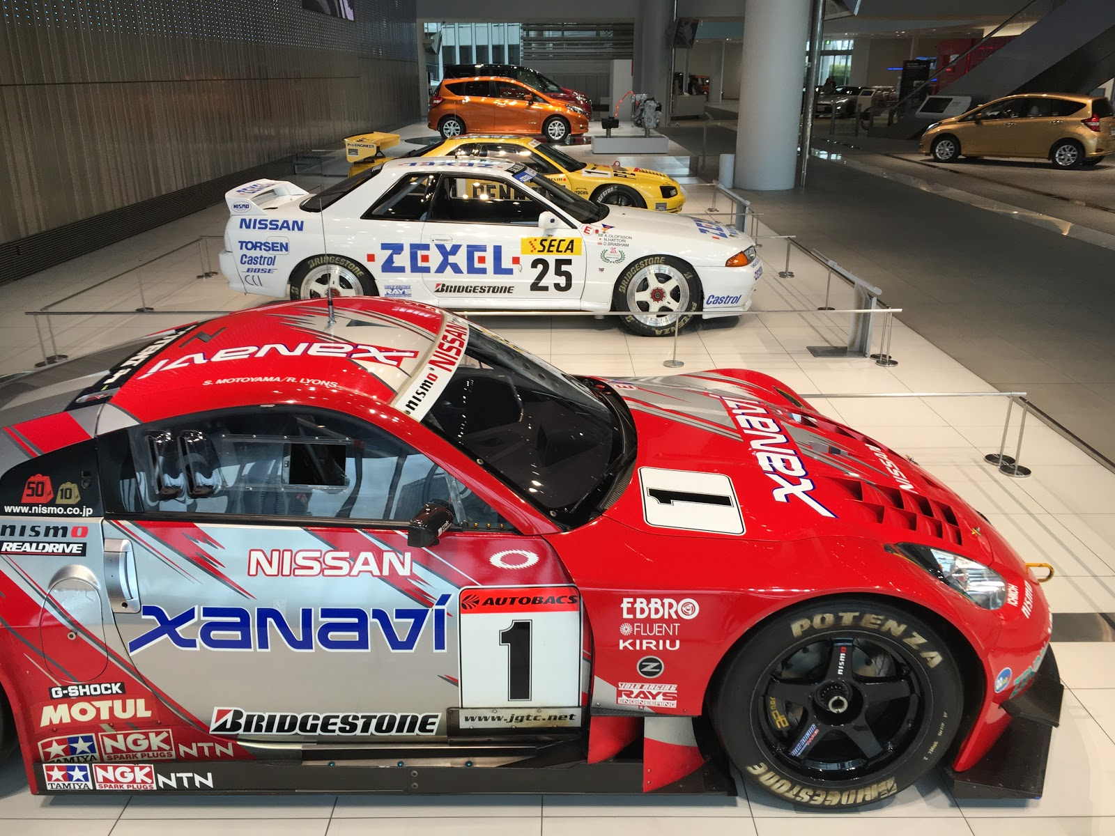 Bnr34 gt r it won the title in its debut year in 2004 and the road going version of the car revealed to be a successful model for nissan vanachro Gallery