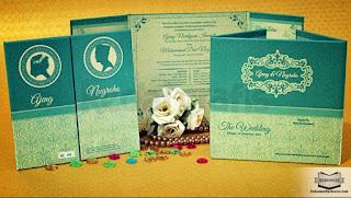 contoh undangan pernikahan islami terbaru