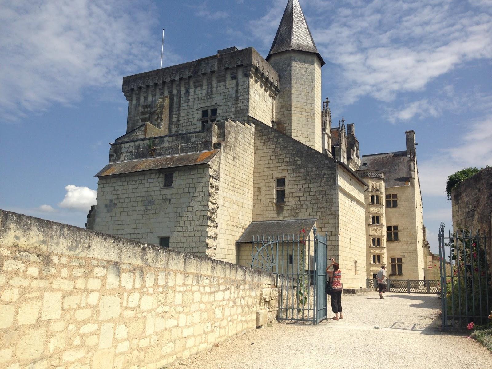 zamek z powieści Duma w Montsoreau, zamek nad Loarą