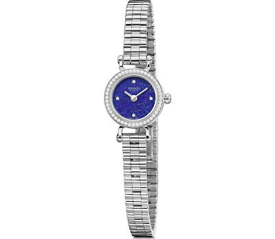 Hermès Faubourg Lapis Lazuli with diamond set white gold case and bracelet
