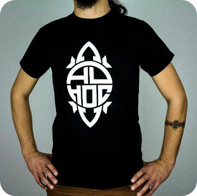 Ad Hoc - tricou negru