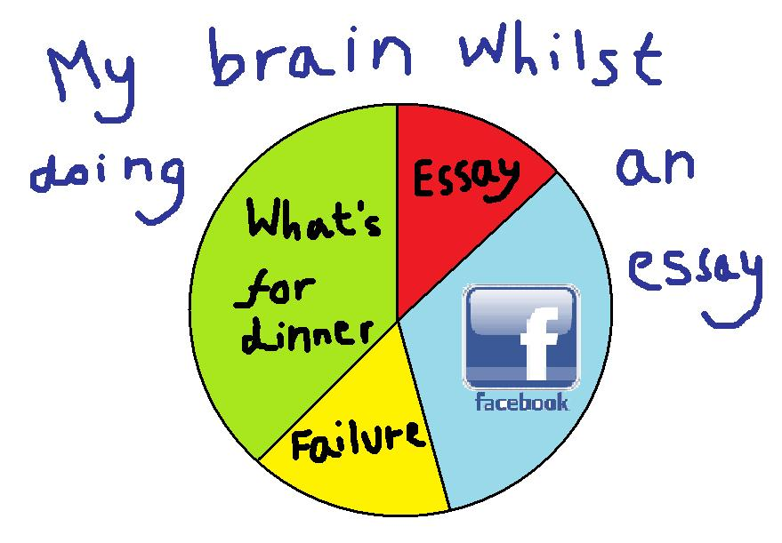 my big fat geeky english blog the pie chart of procrastination the pie chart of procrastination