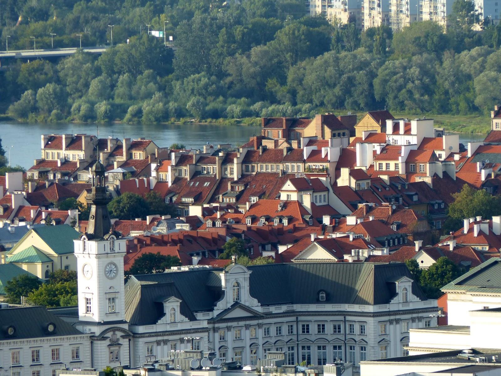 valter: Varsavia dalla Terrazza
