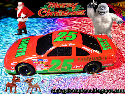Santa Claus #25 Santamobile Chevrolet Racing Champions 1/24 diecast blog 2018 Merry Christmas