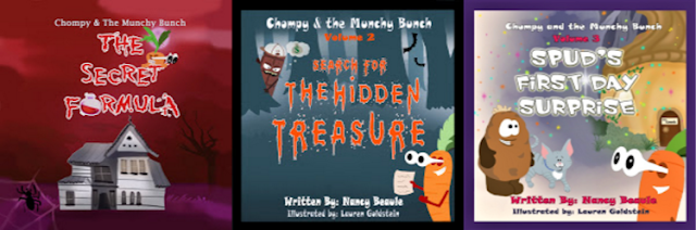 Chompy & the Munchy Bunch Series by Nancy Beaule