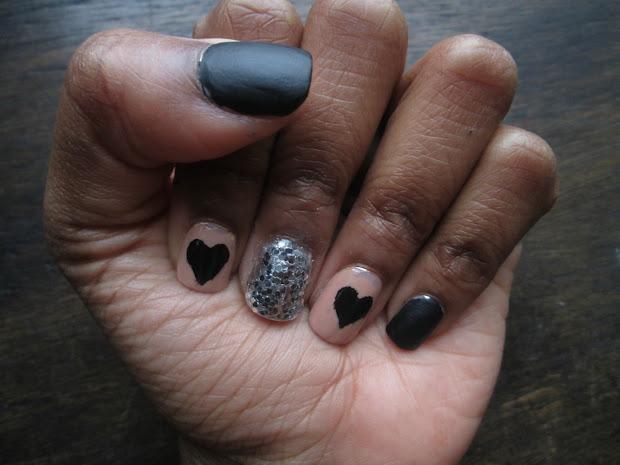 colour violet nail tutorial