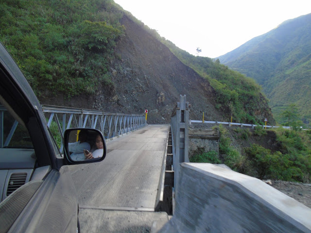 The way to Buscalan, Tinglayan