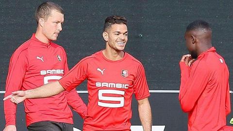 Rennes đang có thành tích tốt nhất tại sân vận động Gerland