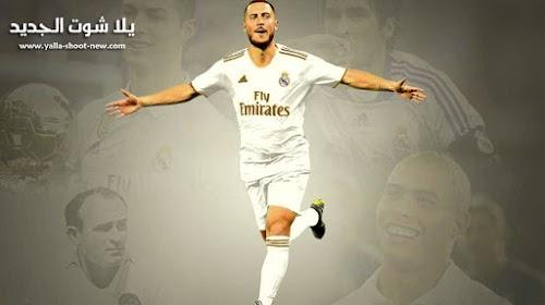 رسميا إدين هازارد لاعب ريال مدريد حتى 2024 مقابل 100 مليون قادم من تشيلسي
