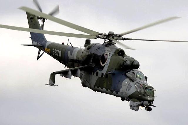 Mil Mi-35 Hind E, Helikopter Serang Buatan Rusia | PROKIMAL ONLINE ...