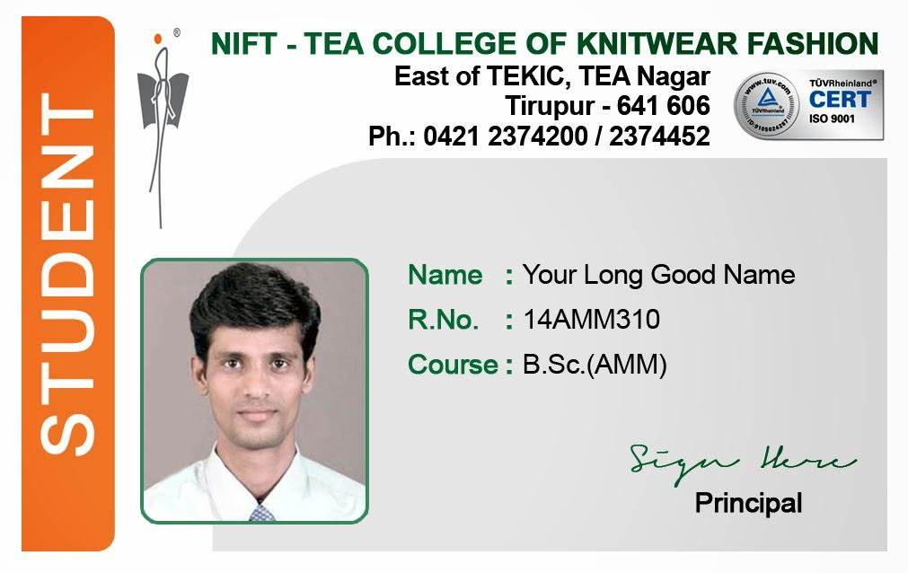 identity card format for student - Vatozatozdevelopment - sample id cards