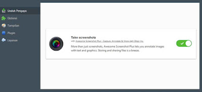 Screenshoot Dengan Addons Di Mozilla