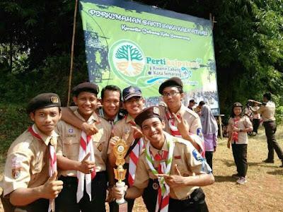 """Racana Diponegoro Juara 3 """"Rangking 1"""" Semarang"""