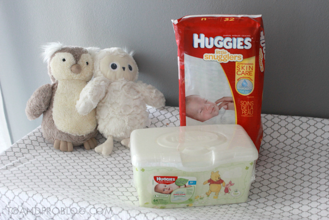 Huggies® Little Snugglers Diapers and Natural Care Wipes