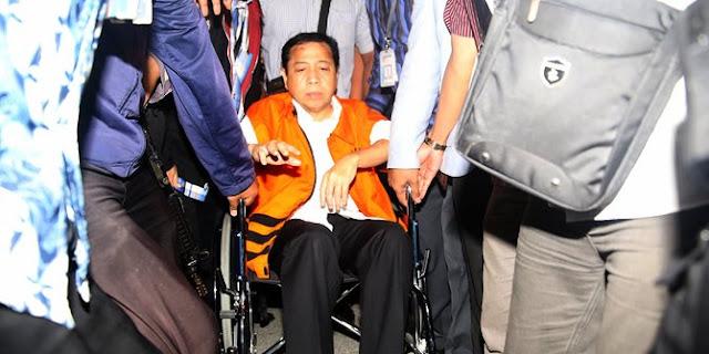 Usai Diperiksa, Novanto Cerita Soal Kecelakaan Hingga Ngaku Luka Berat