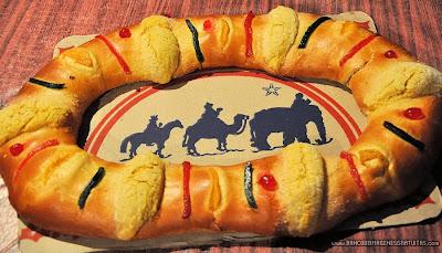 Rosca de Reyes (6 de Enero - Día de Reyes)