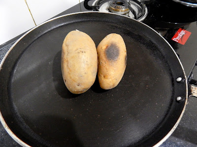 keep turning the potato in every 20-30 minutes.