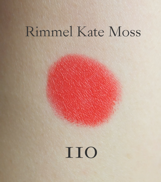 Rimmel Lasting Finish by Kate Lipstick 110 swatch