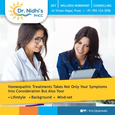 person being treated with homeopathic means