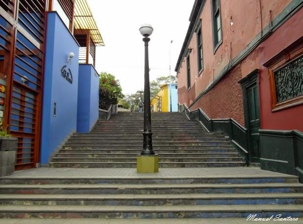 Lima, Barranco. Una via caratteristica