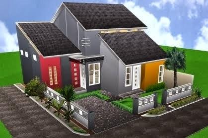 Desain Atap Rumah Sesuai 2 Lantai Modern Sederhana Minimalis 1