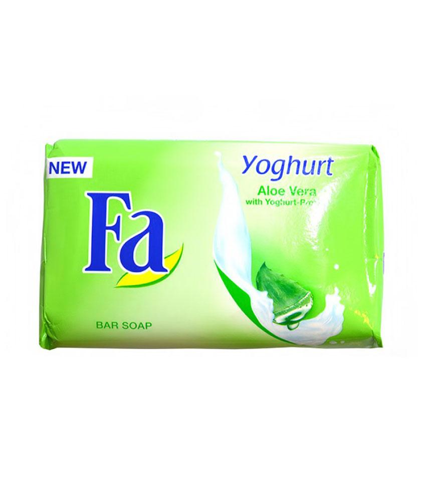 FA Yoghurt Aleo Vera Soap 175G
