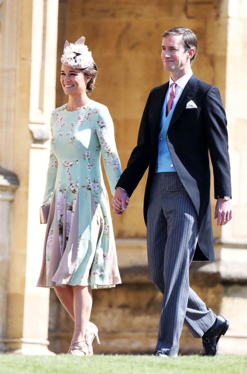 Royal Wedding 2018: Pregnant Pippa Middleton turns heads in floral dress