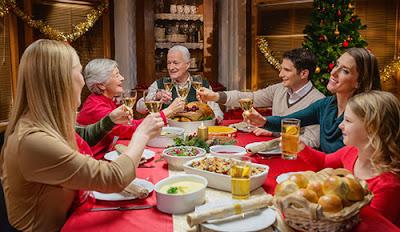 cena navidad en familia