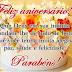 Frases de Feliz Aniversário Parabéns Cartão para Aniversário e Mensagens Escritas.
