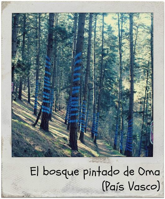 Senderismo bosque pintado de Oma