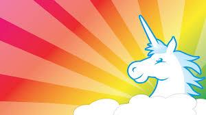 colorful unicorn wallpaper