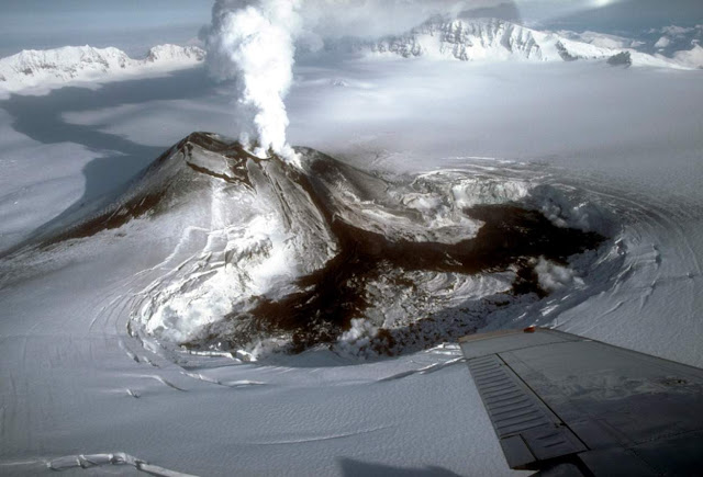 Lava Flow Seen on Restless Alaska Volcano