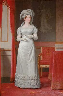 Marie of Hesse-Kassel by Christoffer Wilhelm Eckersberg