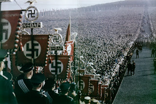 Demostración de fuerza del Partido Nazi en Alemania