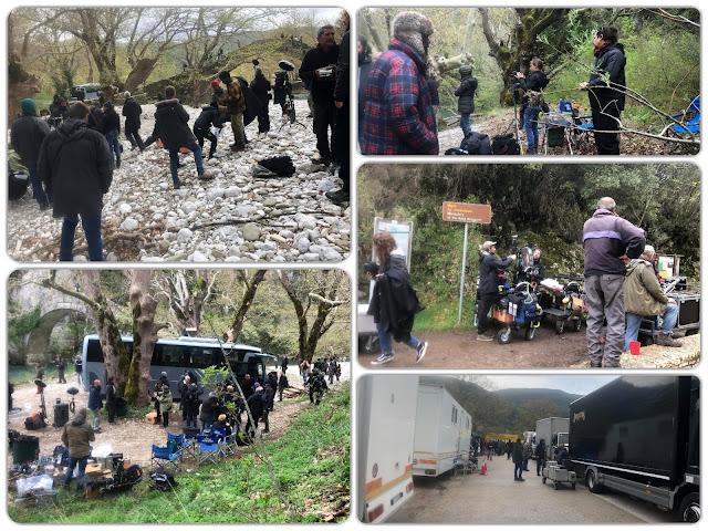 Γιάννενα: Στην γέφυρα Κλειδωνιάς και τον Βοϊδομάτη,συνεχίζονται τα γυρίσματα της χολιγουντιανής ταινίας «Born to be murdered»!