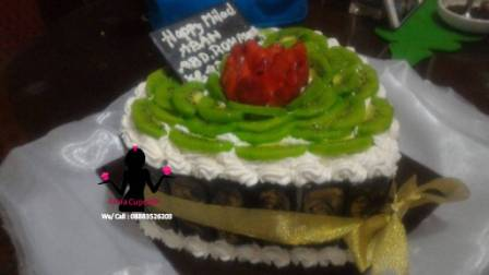 Cake Tart tutty fruity buah kiwi