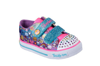 Make Every Step Fun and Bright with Twinkle Toes' Emoji Collection by Skechers