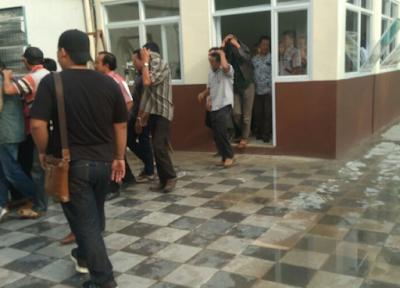Panwas Bubarkan Kampanye Terselubung Tim Arinal di Pringsewu