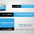Blue PSD Web Banner Pack - PSD Banners | Download High Resolution PSD Banners