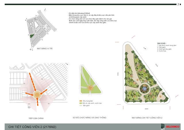Thiết kế quy hoạch chi tiết công viên 2 - The Green Daisy
